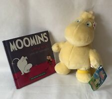 Moomin Snork Maiden Plush Soft Toy With Tags, Golden Bear & Moomins Book