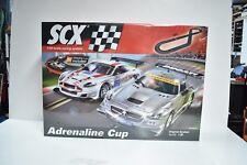 A10130X5U0 SCX 1/32 SCALE SLOT CAR SET ADRENALINE CUP ORIGINAL SYSTEM SET C3