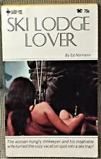 Ed Normann / SKI LODGE LOVER First Edition 1967