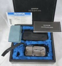OLYMPUS INFINITY STYLUS LIMITED 35mm OUTFIT IN ORIGINAL BOX, OPENED, NEW