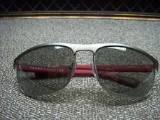 Authentic Prada Linea Rossa SPS 54Q - Sunglasses Red Frame