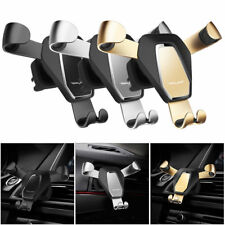 Universal in Car Air Vent Gravity Mount Holder Stand Cradle For Mobile Phone