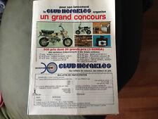 publicité grand concours club héraklés honda DAX 70