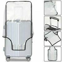 Transparent Suitcase Cover Travel PVC Clear Luggage Waterproof Protector Bags