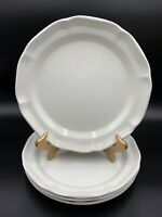 "Mikasa French Country Side Dinner Plates 10 7/8"" Set of 4 EUC"