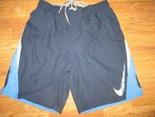 Mens NIKE swim trunks shorts w/ built n mesh liner XL