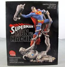 Superman Man Vs Machine Limited Edition Mini Statue 2001 DC Direct 459 / 2,500