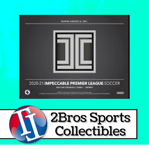 20-21 Impeccable Premier League 3 Box Case Break 5/7 3pm CST - Manchester United
