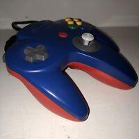 100% OEM Custom Mario N64 Controller Working AUTHENTIC Nintendo Brand Parts!