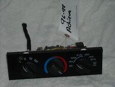 1996-1998 Olds Achieva Ac Heater Control