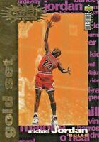 1995 UPPER DECK MICHAEL JORDAN YOU CRASH THE GAME GOLD FOIL C1 BASKETBALL CARD