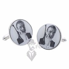 James Bond Cufflinks - Sean Connery from Russia with Love