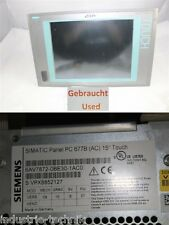 SIEMENS SIMATIC Panel PPC 677B 6AV7872-0BE30-1AC0