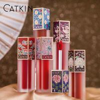 CATKIN Lipstick Lip Gloss Waterproof Makeup Moist Soft Matte Velvet Stick Liquid