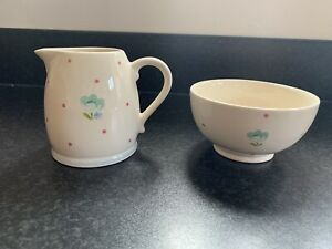 John Lewis Polly's Pantry Creamer and Sugar Set