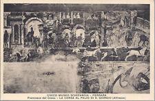FERRARA - MUSEO SCHIFANOIA - LA CORSA AL PALIO DI S GIORGIO  FRANCESCO DEL COSSA