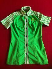 1976, McDonald's, Ladies Employee (Lime Green) Uniform (Scarce / Vintage)