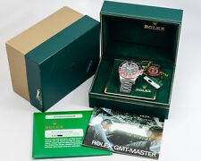 """Rare and Collectible Rolex GMT-Master II Ref. 16760 """"Fat Lady"""" w/ Box & Papers!"""