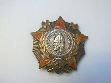 RUSSIA SOVIET ORDER OF ALEXANDER NEVSKY NEWSKI,WWII BADGE, superb,very rare