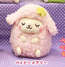 Oyasumi Girly Wooly 6'' Pink Sheep Amuse Prize Plush Anime Manga NEW