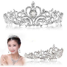 STUNNING Wedding PARTY WOMEN Bridal Princess Crystal Hair Tiara Crown Accessory