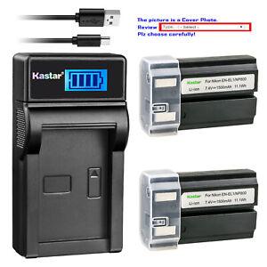 Kastar Battery Charger for Nikon EN-EL1 Minota NP-800 Nikon Cooipix 880 885 995