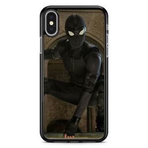 Spider-man Far from Home Black for iPhone Case XS MAX