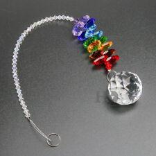 Crystal Rainbow Suncatcher Xmas Gift Chakra Hanging Ball Prisms Window Decor