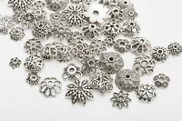 150pcs Mixed Tibet Silver Beads Spacer For Jewelry making European Bracelet