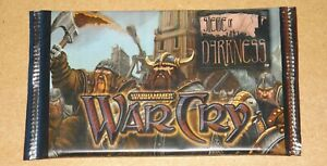 Warhammer WarCry CCG Siege of Darkness Booster Pack New & Sealed