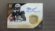 2014 Immaculate football Brandin Cooks Rc  on card auto/10