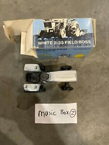 Vintage White Field Boss 2-35 Tractor 1/25 MIB Scale Models Diecast 1980