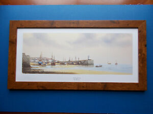 SHIPPING PRINT - WAITING FOR THE TIDE  BY KEN HAMMOND