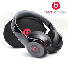 SOLO HD 2.0 DR. DRE BEATS WIRED MONOCHROME BLACK ON EAR HEADPHONES