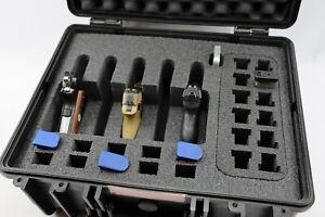 New ArmourCase 1520 Waterproof 5 Pistols Quickdraw case + Storage & nameplate