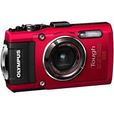 Olympus TG-4 16MP 1080p HD Waterproof Digital Camera w/ 3-Inch LCD Display - Red