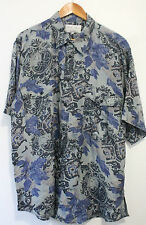 Silk Floral Casual Shirts & Tops for Men