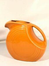 Fiesta Disc Pitcher Vintage Orange Made In USA