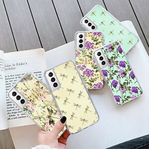 DRAGONFLY GEL PHONE Case Cover For Samsung S21 Plus Ultra 202