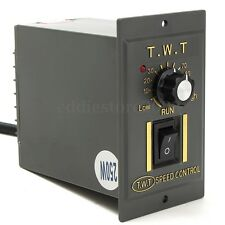 Electronic 250W Motor Speed Control Switch Variable Speed Frequency Converter