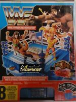 Hasbro WWF Official Wrestling Ring With Sound Effect 1991 US UNUSED Rare FedEx