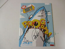 SENSES FAIL AUTOGRAPHED SIGNED WARPED PROGRAM WITH SIGNING PICTURE PROOF