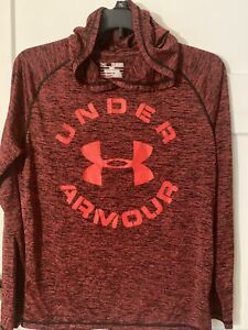 Under Armour Youth Xl Loose Red Hoodie Boys