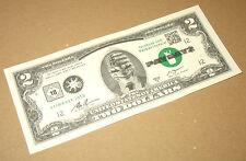 Payday 2 sehr rar 2 Dollar Schein / Bill / Note (Fake) Gamescom 2013