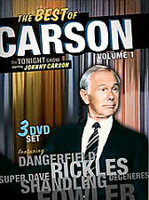 THE BEST OF CARSON : The Tonight Show    Volume 1   BRAND NEW