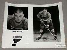 Original Late-60's Larry Keenan St-Louis Blues Photo