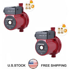 Pack Of 2 Npt 34 Automatic Booster Pump 110 120v Hot Water Recirculating Pump
