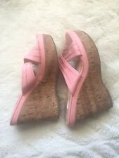 Playboy Bunny Baby Pink Wedges