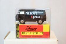 Schuco Piccolo Volkswagen Kastenwagen Nescafe xpres neu perfect mint in box 1:90
