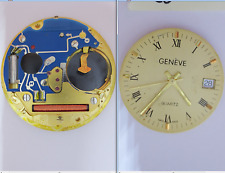 geneve eta 955 412 eta movimento movement old dial 26 mm watch for parts vintage